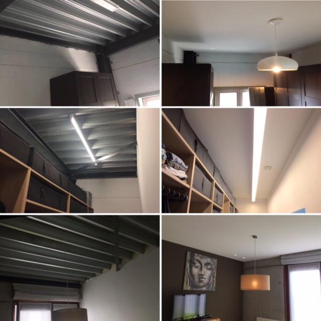 spanplafond met akoestische isolatie
